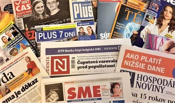 Slovenským printům klesly prodeje, nejvíc měsíčníkům