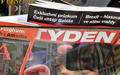 Empresa převede časopisy Týden a Exkluziv na měsíčníky