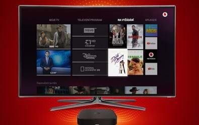 Vodafone TV má po měsíci tisíce zákazníků