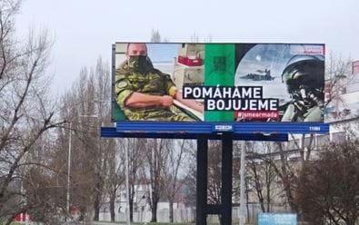 BigBoard na svých plochách podporuje Armádu ČR