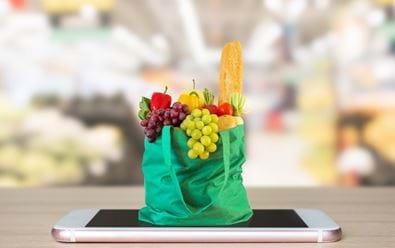 Online prodej potravin se v Česku zdvojnásobil