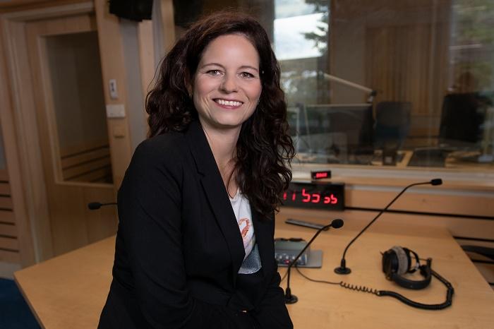 Iva Pavlousková, zdroj: Active Radio