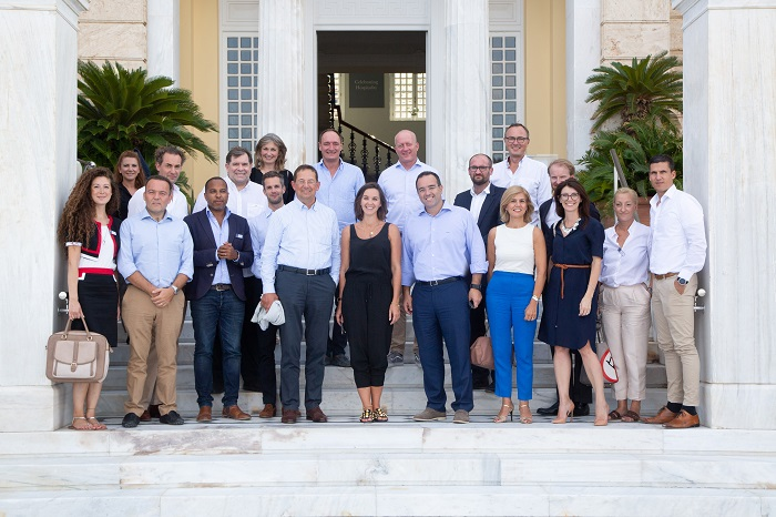 Zástupci členů EMA na setkání v Aténách, zdroj: CME