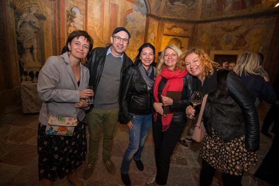 Andrea Lajková (S/M), Tomáš Motl (Air Bank), Michaela Danyiová (Equa bank), Henrieta Arslanová (Equa bank) a Blanka Šperlingová (Komerční banka).