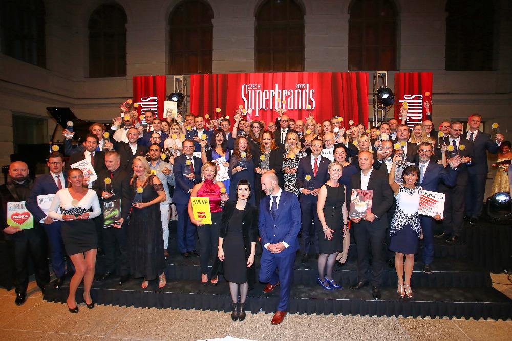Téměř 70 značek bylo oceněno na letošním 7. ročníku Superbrands. Zdroj: Superbrands