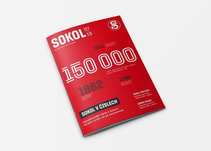 Časopis Sokol, zdroj: Dynamo design