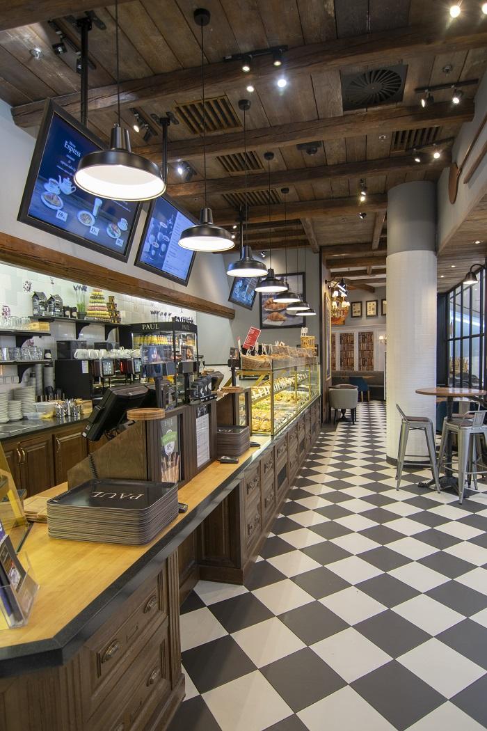 Redesignovaná pobočka pekařství Paul na Chodově, zdroj: Paul