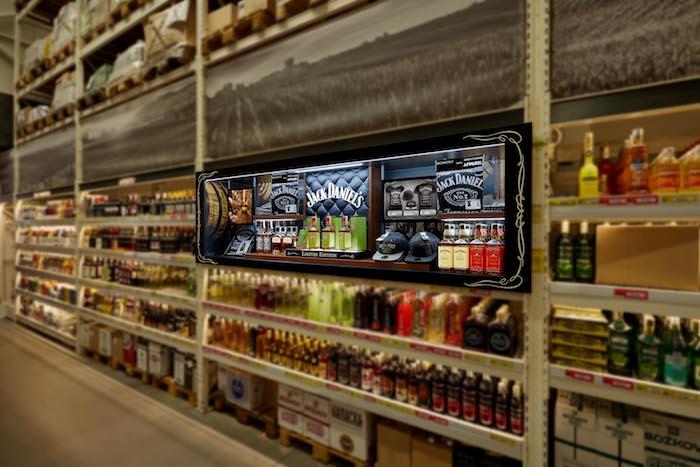 Jack Daniel's testuje v Makru svůj shop-in-shop, zdroj: Brown-Forman.