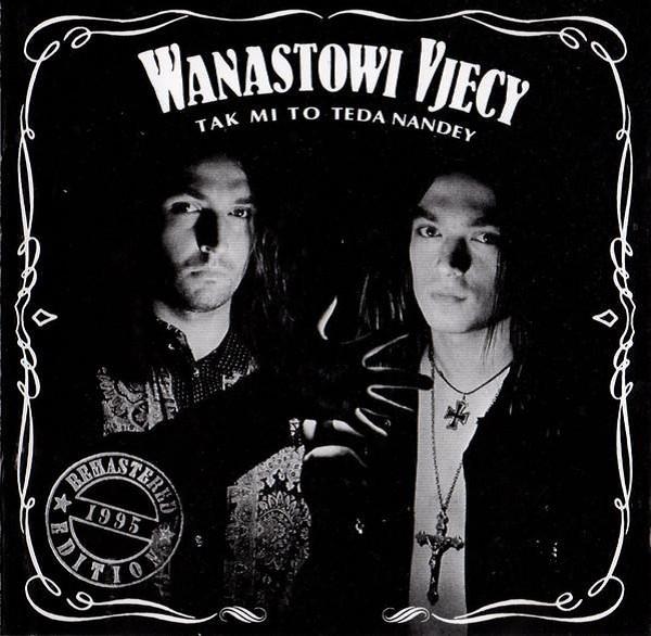 Album Tak mi to teda nandey od skupiny Wanastowi Vjecy využívá vizuální identity whiskey Jack Daniel's, zdroj: