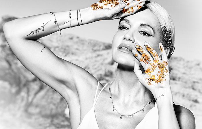 Klíčový vizuál s Darou Rolins na podporu parfému Maxima, zdroj: Avon Cosmetics