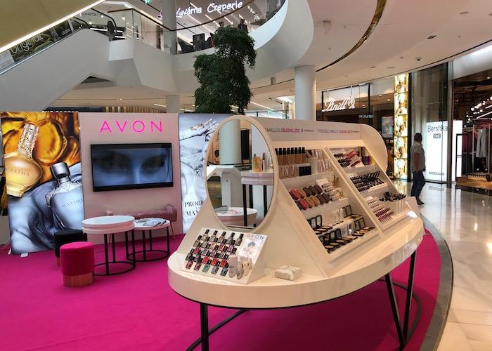 Avon Beauty point v obchodním centru Westfield Chodov, foto: MediaGuru.cz