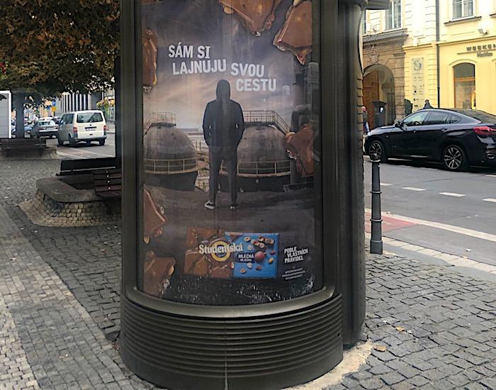 "V nové kampani pracuje Studentská pečeť s claimem: ""Sám si lajnuju svou cestu"", foto: MediaGuru.cz."