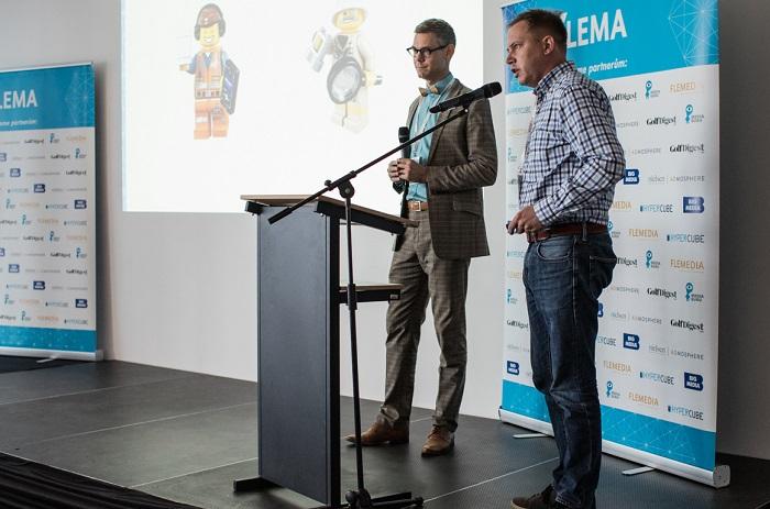 Zleva: Ondřej Matula (Nielsen Admosphere) a Jan Jirsa (Lego), foto: Flemedia