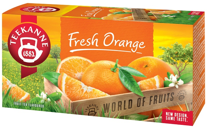 Teekanne Fresh Orange, zdroj: Teekanne
