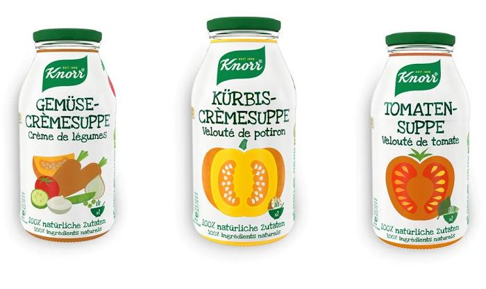 Knorr představil na podzim na českém a slovenském trhu tři varianty hotových polévek, zdroj: Unilever.