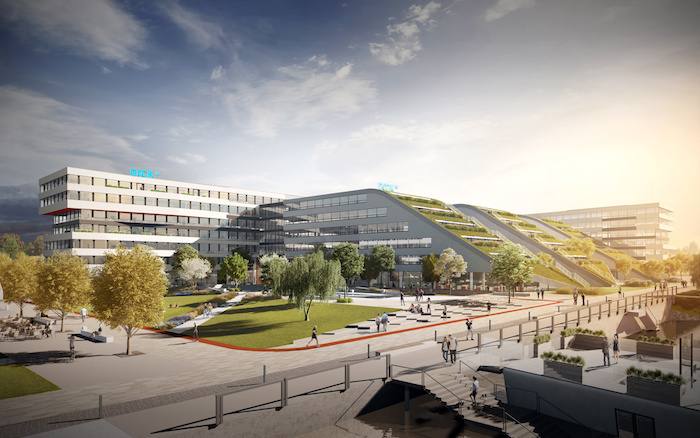 Publicis Groupe obsadí v Docku dvě patra o ploše 5000 m2, zdroj: Publicis Groupe.