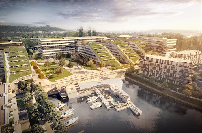 Publicis Groupe se na jaře 2020 přestěhuje do Docku v Libni, zdroj: Publicis Groupe.