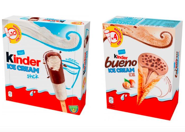 Unilever a Ferrero společně vyrobily zmrzlinu Kinder, zdroj: Rohlik.cz.