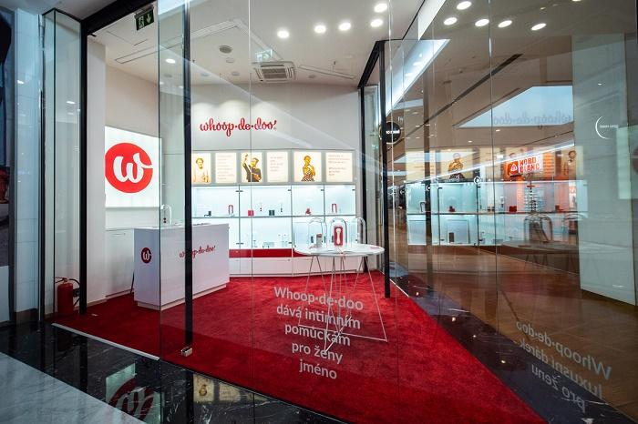 První butik Whoop.de.doo bude bez polepu na výlohách, zdroj: Anna Marešová designers.