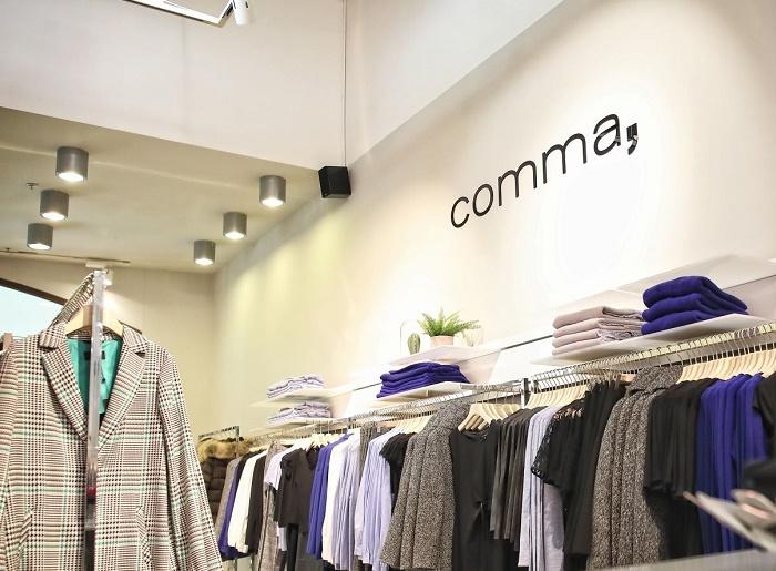 První prodejna značky Comma byla otevřena v centru Freeport na Hatích, zdroj: Freeport Fashion Outlet.