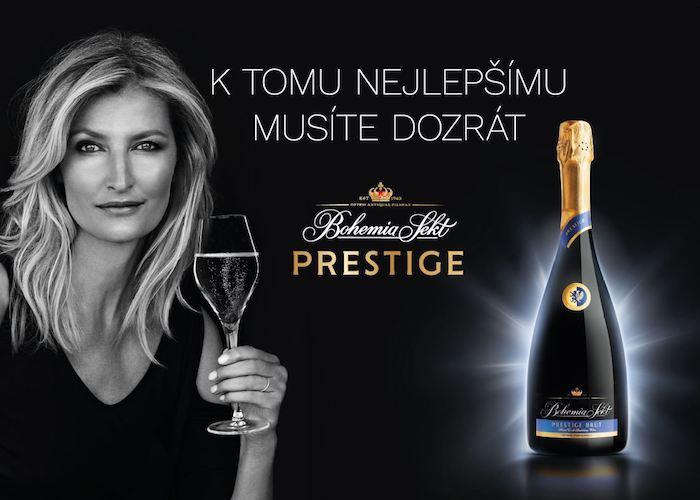 Klíčový vizuál ke kampani na podporu Bohemia Sekt Prestige, foto: Bohemia Sekt