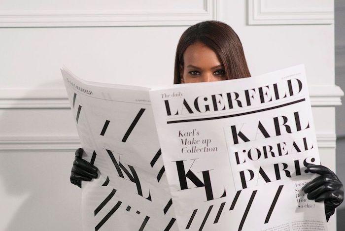 Karl Lagerfeld se spojuje s L'Oréalem, zdroj: L'Oréal
