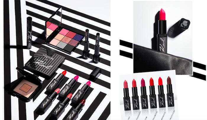 Kolekce dekorativní kosmetiky Karl Lagerfeld X L'Oréal Paris, zdroj: L'Oréal
