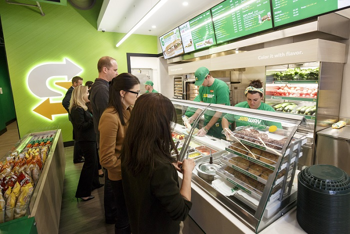 Nový design provozoven firma představila již před dvěma lety, v ČR jej ale má jen jedna restaurace. Zdroj: Subway