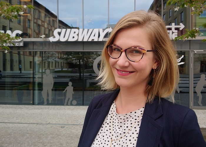 Irena Očková má na starosti komunikaci pro 12 zemí, zdroj: Subway