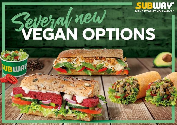Subway obměňilo nabídku, která zahrnuje čím dál více i vegetariánksé produkty. Zdroj: Subway