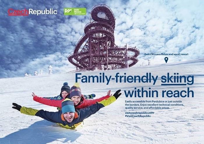 Další destinací pro zimní dovolenou je Dolní Morava, zdroj: CzechTourism.