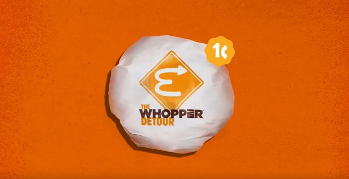 Burger king byla jednou z nejúspěšnějších značek na festivali Cannes Lions, zdroj: Youtube Burger King.