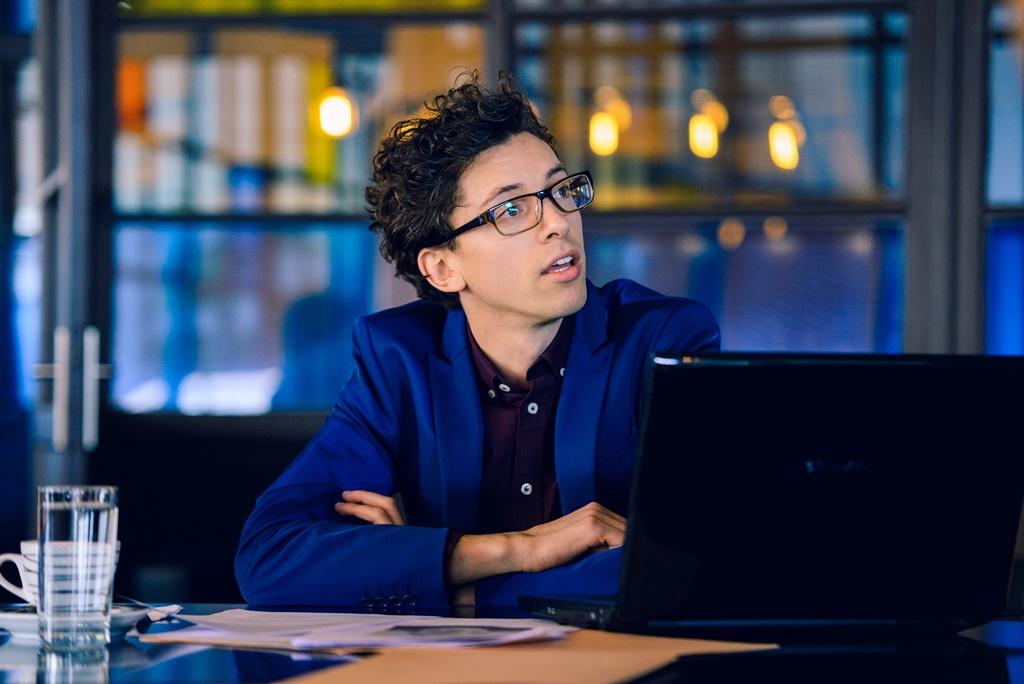 Jan Cina v seriálu Dáma a Král, foto: TV Nova