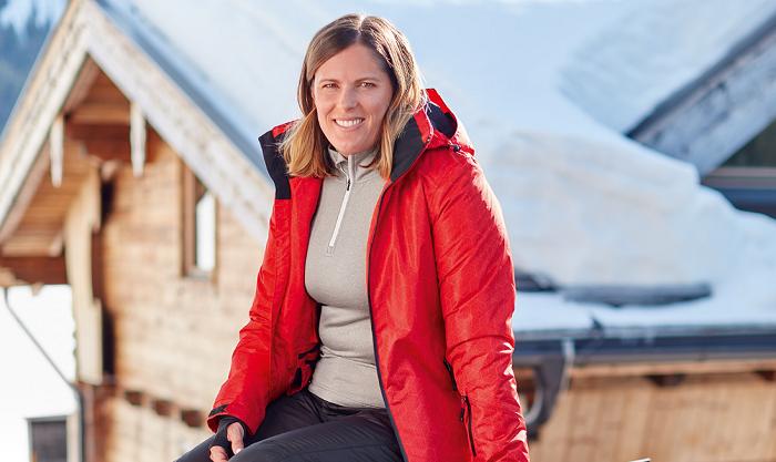 Veronika Velez-Zuzulová, sjezdová lyžařka, je tváří zimní kolekce Lidlu na Slovensk, zdroj: Lidl SK.
