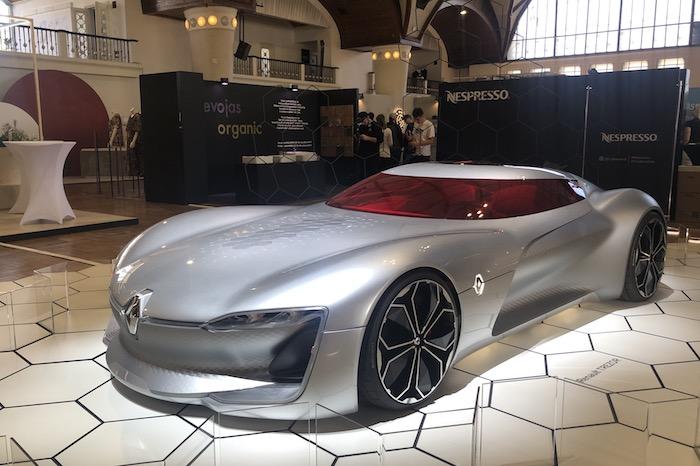 Renault představuje na Designbloku svůj koncept Renault Trezor, foto: MediaGuru.cz.