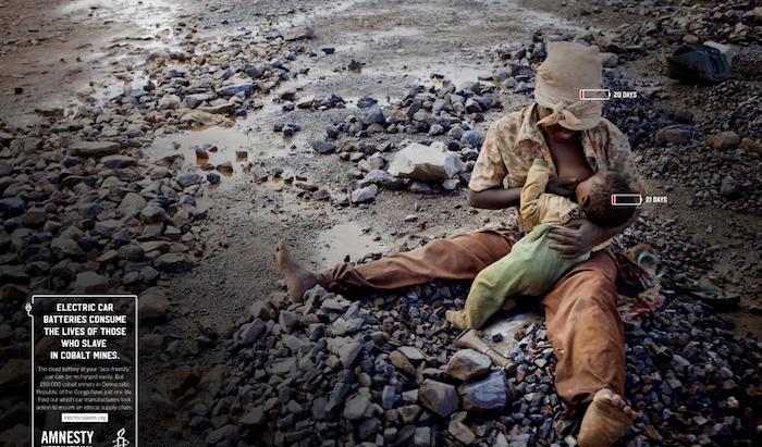 Havas: Mother & Child pro Amnesty International, zdroj: Golden Drum