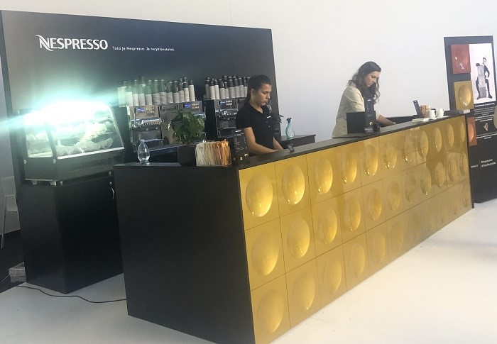 Nespresso Bar na letošním Designbloku, foto: MediaGuru.cz