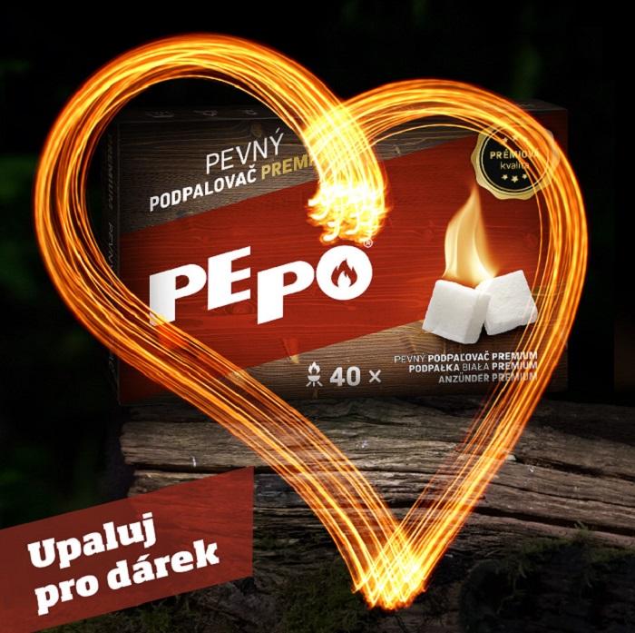 Směrem k mladší generaci začalo Pe-Po komunikovat vizuály i na Facebooku, zdroj: Severochema.