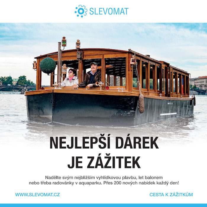 Vánoční reklama portálu Slevomat, zdroj: Slevomat