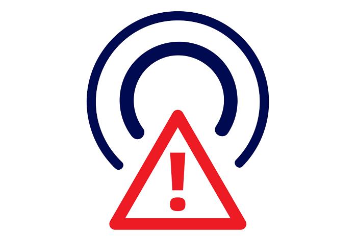 Piktogram upozorňující diváky na končící DVB-T a nástup DVB-T2, zdroj: ČT
