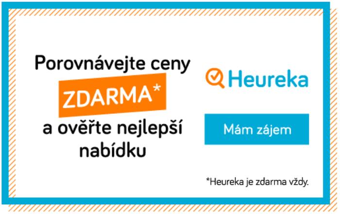Vizuály listopadové kampaně Heureky mají připomínat akční letáky, zdroj: Heureka.