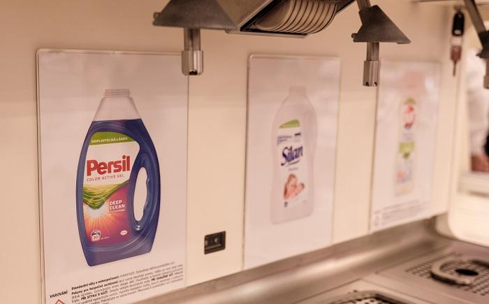 Zákazníci si mohou opakovaně načepovat výrobky od pěti značek Henkel, zdroj: Rossmann.
