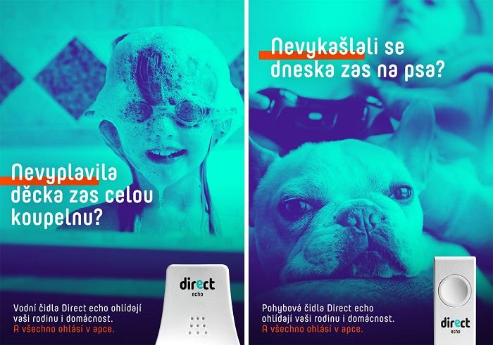 Direct v kampani představuje svá pohybová a vodní čidla, zdroj: Direct.