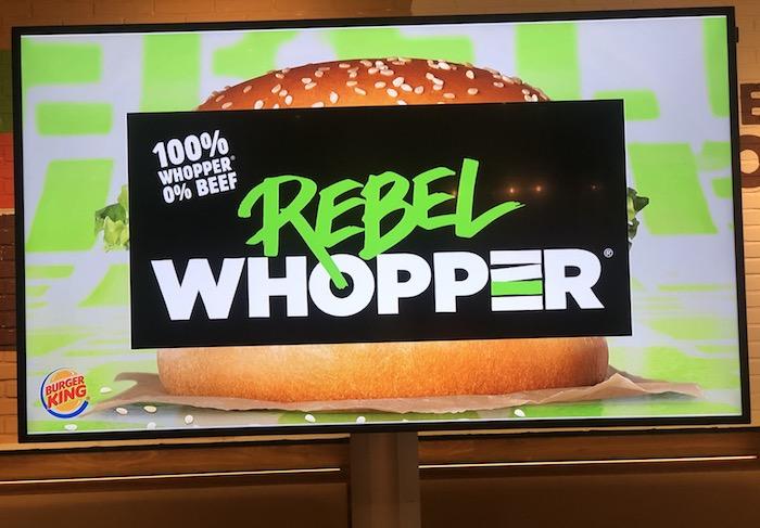 Rebel Whopper, foto: MediaGuru.cz