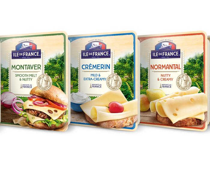 V nabídce je celkem pět druhů plátkových sýrů, pro studenou i teplou kuchyni, zdroj: Savencia.