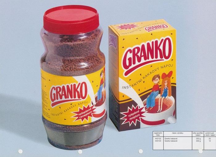 Obal z roku 1993, kdy se Granko spojovalo s Machem a Šebestovou, zdroj: Nestlé.