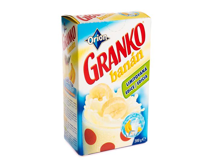 Granko bylo od roku 1981 k dostání i v banánové variantě, zdroj: Nestlé.
