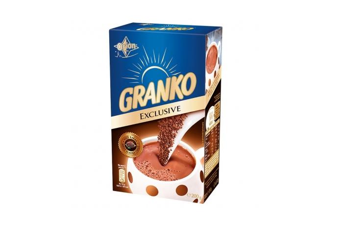 Další novinkou z roku 2009 je i Granko Exclusive s vyšším podílem kakaa a nižším obsahem cukru, zdroj: Nestlé.