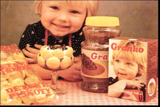 Uvedení Granka v roce 1979 provázela rozsáhlá reklamní kampaň, zdroj: Nestlé.