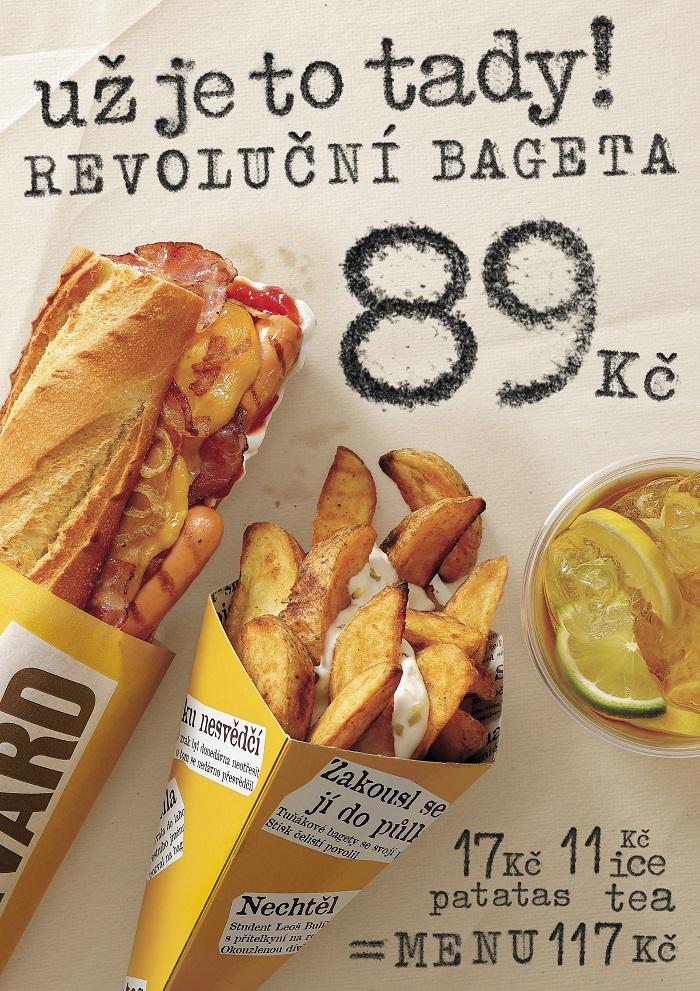 Bageterie Boulevard uvádí revoluční menu, zdroj: Bageterie Boulevard.